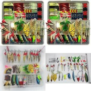 Fishing Lure Set Artificial Bait Lure Plastic Fishing Lures Minnow Popper Pencil