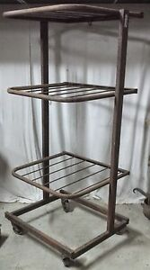 antique display  stand metal brand toutentub furniture industrial workshop loft