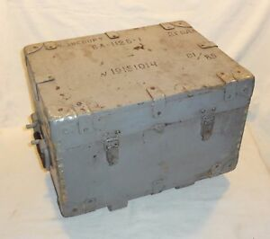 Vintage WW2 * Wooden Ammo Box * Military Amunition box *