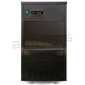 120 lbsday Commercial Stainless Steel Auto Ice Maker Bullet Machine 110V