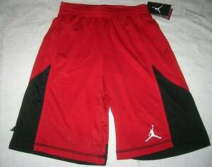 NWT NIKE JORDAN BOYS SIZE 12 LARGE ATHLETIC BASKETBALL SHORTS dry fit