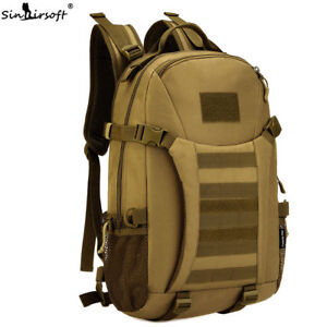 35L Tactical Sport Bag Military Backpack Rucksack 17 Inch Laptop Camping Hunting