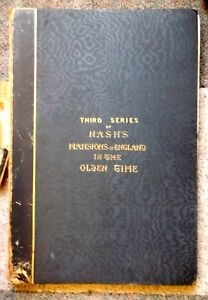1841 antique book lithographs JOSEPH NASH Mansions of England 3rd series 25 lith $280.00