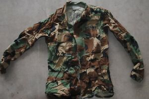 Small Long Army Military Fatigue  JACKET CAMOUFLAGE PATTERN