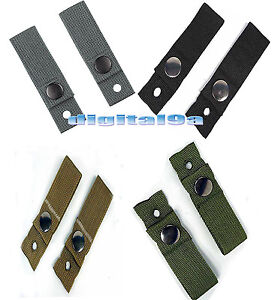 Universal MICHACH Army Helmet Goggle Retention Straps Band BKODACUKHAKI New