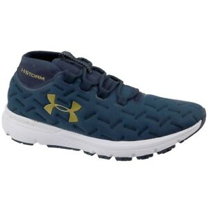Under Armour UA Charged Reactor Run 1298534402 navy blue halfshoes