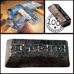 Pure Soft Lead Ingot  Rectangle 1.0  pounds Free fast  Shipping