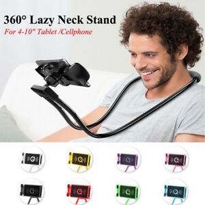 Lazy 360° Flexible Bendable Hanging Neck Holder Phone Tablet Support Wholesale
