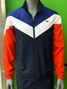 Lacoste Men's Sport Tracksuit WH7998 U5A In Navy Blue
