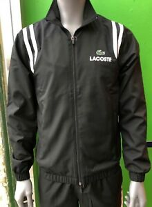 Lacoste Men's Sport Tracksuit WH3380 HJS In Black White