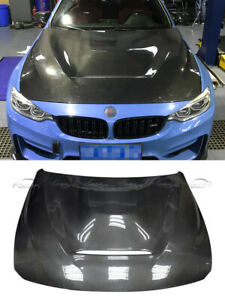 Double Side Carbon Bonnet Fit For BMW F80 M3 F82 F83 M4 GTS Style Hood 14-15
