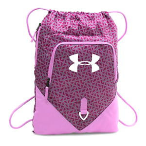 Under Armour Undeniable Sackpack School & Day Hiking Backpack Sport Bag Pink New