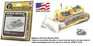 Bulldozer HO Scale lead-free metal castings Kit Item D233