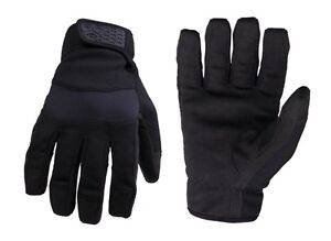 TecArmor Tactical Made with Kevlar Work Gloves StrongSuit Puncture Resistant