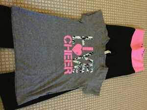 Ideology Pants and Tee Dry Fit Girls Size XL