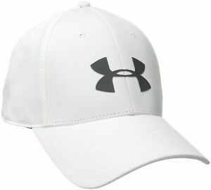 Under Armour Men's Golf Headline Hat Cap white LargeX-Large New Free Shipping