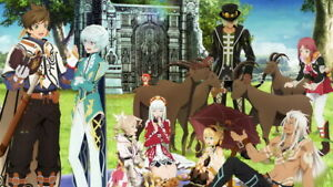 014 Tales of Zestiria the X Sleigh Fight Japan Anime 24quot;x14quot; Poster