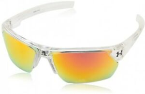 Under Armour Igniter 2.0 Shiny Crystal Clear Frame with Frosted Clear Rubber