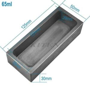 65ML High Purity Refining Graphite Casting Melting Ingot Mold for Gold Silver