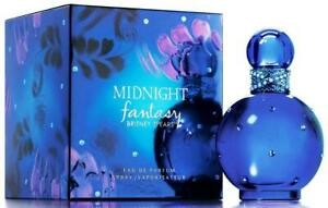 Britney Spears Midnight Fantasy Perfume for Women 3.3 3.4 oz EDP Spray New