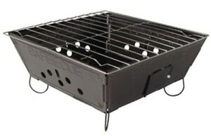 Portable Folding Fold Up Barbecue Bbq Grill Cooker for Camp Camping Disposable