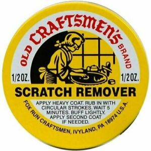 Old Craftsmen's Scratch Remover .5oz - Great on Scuffed Wood Furniture