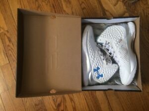 Under Armour Curry One 1 Splash Party Size 13 Birthday White  Blue