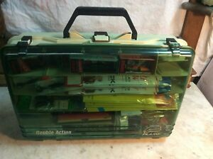 PLANO DOUBLE ACTION LOADED TACKLE BOX ALL NEW GEAR