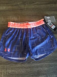 NWT Girls Under Armour Shorts Athletic Size XS