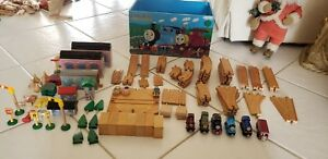 Learning Curve Thomas Train Wooden Magic Railroad Movie Set NOT COMPLETE MISSING