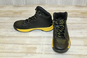 Under Armour Curry Basketball Shoes - Big Boy's Size 6 BlackYellow