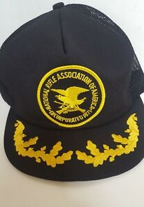 National Rifle Association Trucker Hat NRA Scrambled Egg Bill Guns 2nd Amendment