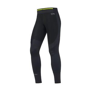 Gore Running Wear Men's Fusion Windstopper Tights Black 2017 Large