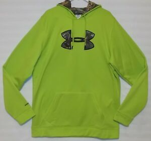 Under Armour Storm1 Gecko Green Realtree Hoodie New Men's Big & Tall Size XLT