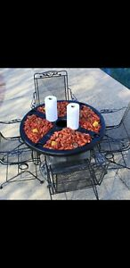 Wdd Cajun Crawfish Outdoor Tailgating Table Rigid ABS Plastic USA Made