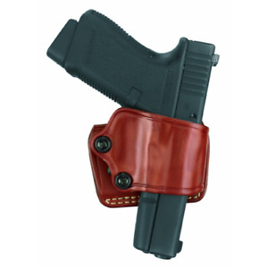 Gould Goodrich Yaqui Slide Holster Brown 801-195 for Most 1911-type Pistols New