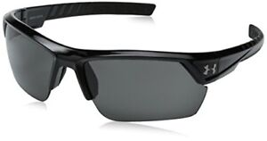 Under Armour Igniter 2.0 Shiny Black  Black Rubber w Gray Lens 8600051-000100