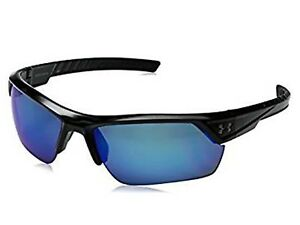 Under Armour Ua Igniter 2.0 Sunglasses shiny Blk Blue polarized 8630051-000168