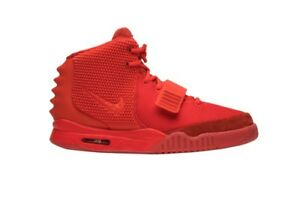 Nike Air Yeezy 2 SP Size 10 Red October Platinum Solar NRG 508214-660 SIZE 10