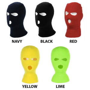 3 Hole Warm Winter Ski Face Mask (More Colors)