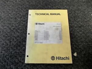 Hitachi ZAXIS 30 35 40 50 Mini Excavator Shop Service Repair Manual