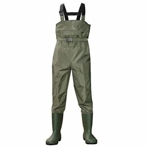 Fishing Waterproof Chest Wader Unisex Boot Foot Hunting Wader Rubber Pants