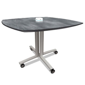 Reload Mobile Charging Table 36 x 36 x 29 Pewter