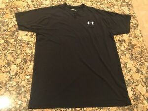 Mens Under Armour Small Dry Fit Shirt Running Hiking Training Basketball Gym