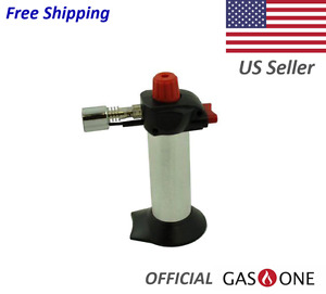 Gas One Mini Cooking Torch Butane Refillable Free Shipping