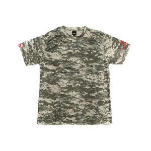 Sale T-Shirt Giant Snakehead Dry Fit Short Sleeve Size XL ACU (4158) Bombada