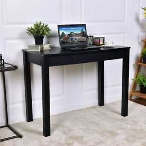 Home Office Computer Desk Workstation Writing Table Storage Drawer Rectangle New