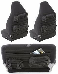 Smittybilt G.E.A.R. MOLLE Front & Rear Seat Covers 1997-2002 Jeep Wrangler TJ