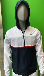 Lacoste Men's Sport Tracksuit WH2092 JTU In White Navy