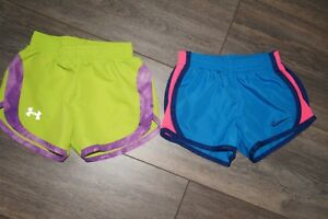 Nike Under Armour Set Girl's Shorts 2T Tempo Running Toddler